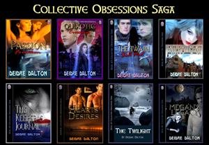 """Collective Obsessions Saga"" board logo. Click on image to view larger size in a new window."